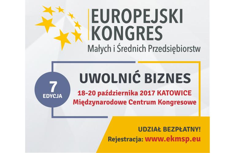 Śląskie Centrum Przedsiębiorczości na Europejskim Kongresie Małych i Średnich Przedsiębiorstw -  Katowice 18-20.10.2017r.